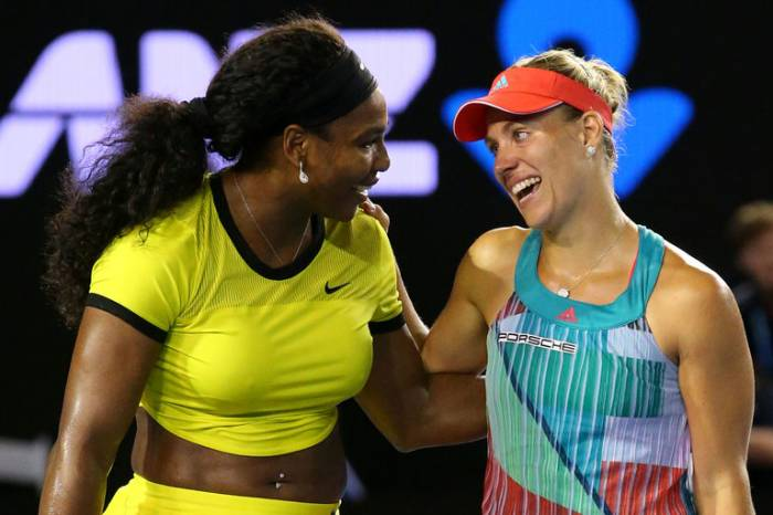 Serena Williams VOTES FOR Angelique Kerber as the PLAYER OF THE YEAR! (PIC INSIDE)