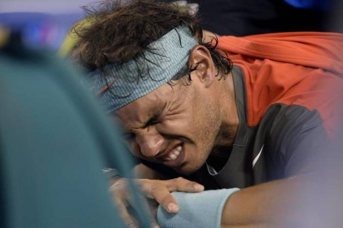 All the injuries Rafael Nadal has had during his career