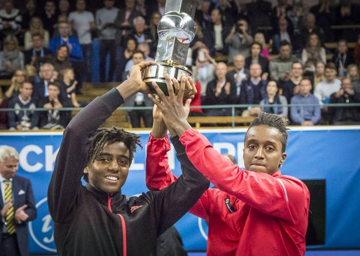 atp doubles elias and mikael ymer champions in stockholm herbert and mahut beaten in antwerp final.