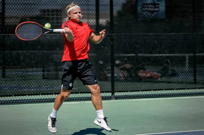 UNLV senior Jakob Amilon is the crowned champion of the ...