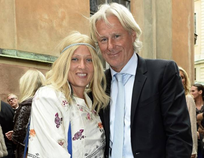 has bjorn borg remarried his wife in vegas