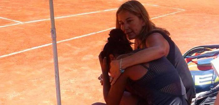 World No. 233's father dies during his daughter's match