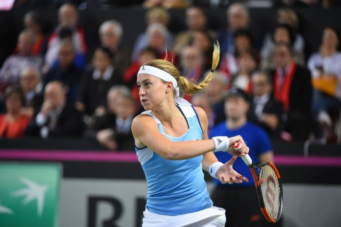 Mladenovic: 'After the medical time out, Bacsinszky ran like a kangaroo'