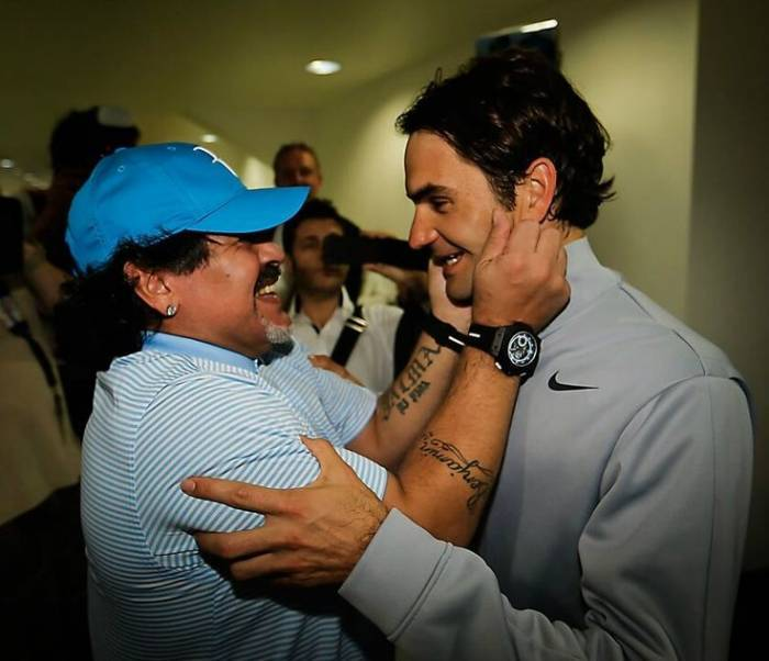 Diego Maradona: 'Federer is the GOAT, else is not'