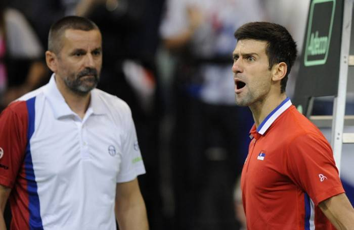 Bogdan Obradovic: 'Djokovic has a conflit with himself, it's like he got lost in a wood'