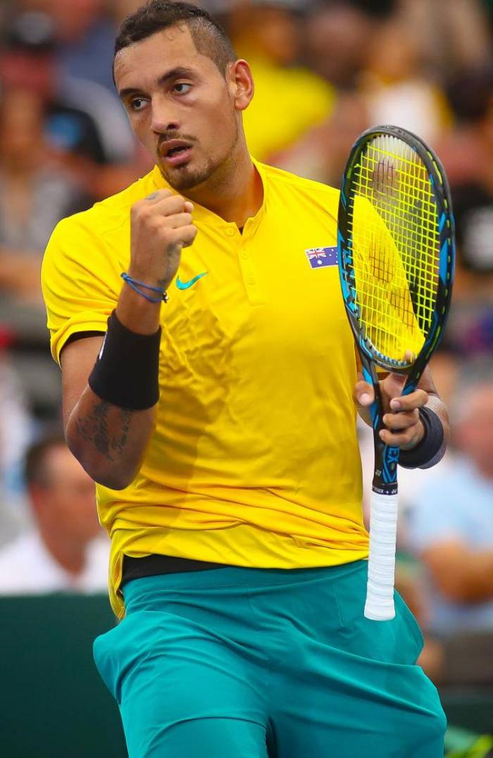 Jim Courier: 'Nick Kyrgios can and should end 2017 in the top five'