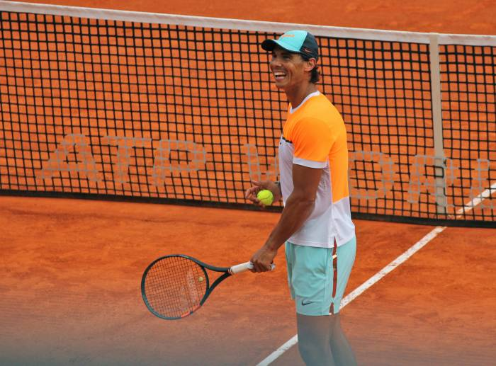 Rafael Nadal: Happy to be training in Monte Carlo (PIC INSIDE)