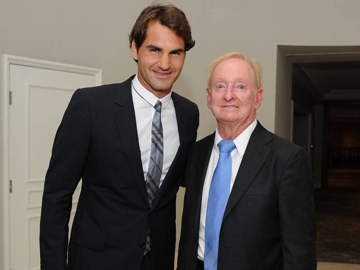 Rod Laver: Roger Federer is playing the best tennis of his life!