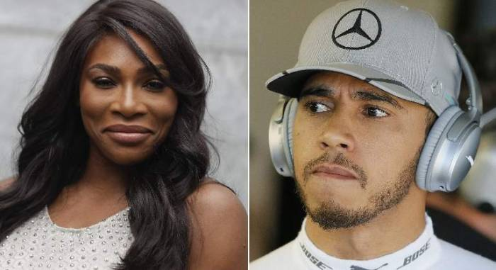 Serena Williams is a born leader: Lewis Hamilton