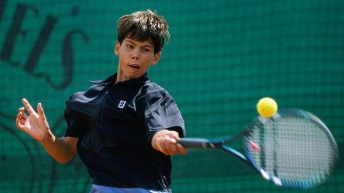 April 29, 2002 - Rafael Nadal wins his first ATP match at home in Mallorca