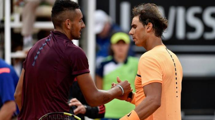 Nick Kyrgios: 'Nadal is the massive favourite, he's the greatest ever on clay'