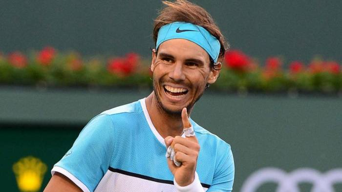 Rafael Nadal gifted amazing painting! (PIC INSIDE)