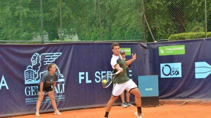 Friday's results on Challenger Tour: Satral, Djere and Giustino reach semis