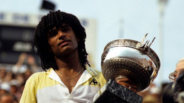 June 5, 1983: Noah wins Roland Garros as the first Frenchman in 37 years!