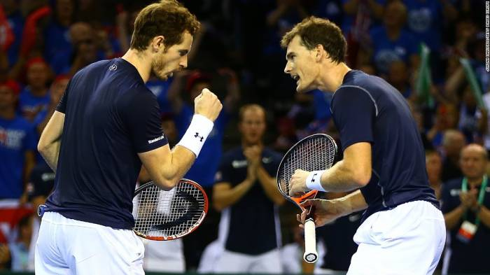 Judy Murray: 'One day Andy and Jamie will play doubles at Wimbledon'