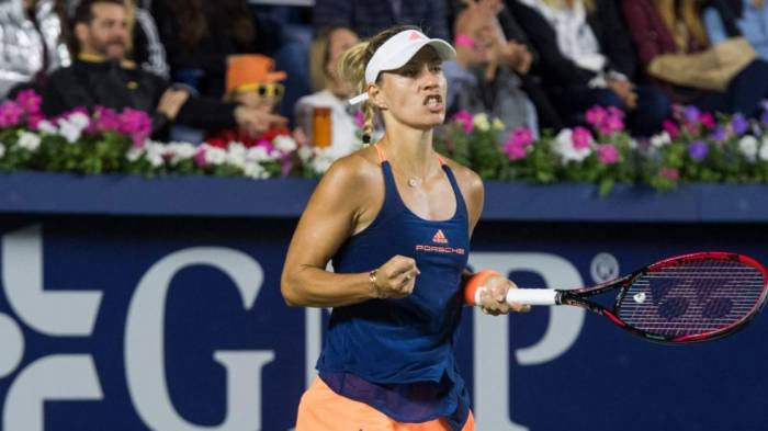 WTA Eastbourne - Kerber and Halep win in three sets. Mladenovic through