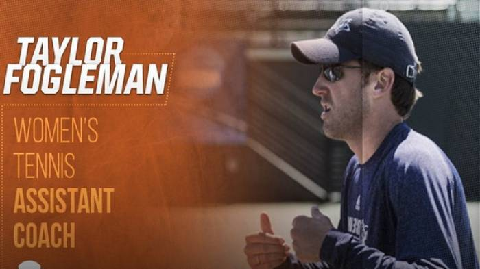 University of Texas sing Taylor Fogleman as women's assistant coach
