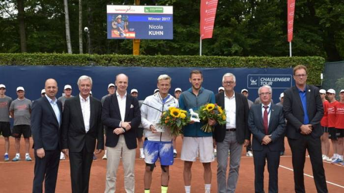 Nicola Kuhn wins Braunschweig, as 14th youngest Challenger champion!