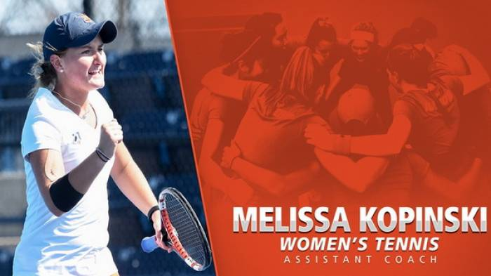 Melissa Kopinski is the new women's assistant coach at Illinois