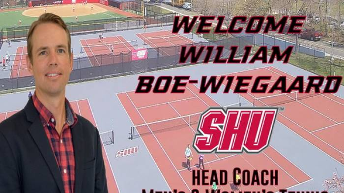 William Boe-Wiegaard is the new head coach at Sacred Heart University