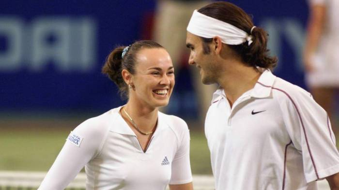 Martina Hingis: 'I taught Roger Federer how to win his first tournament'