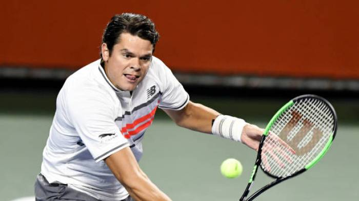 Milos Raonic: 'I picked up a strain to my calf, my wrist isn't a concern'