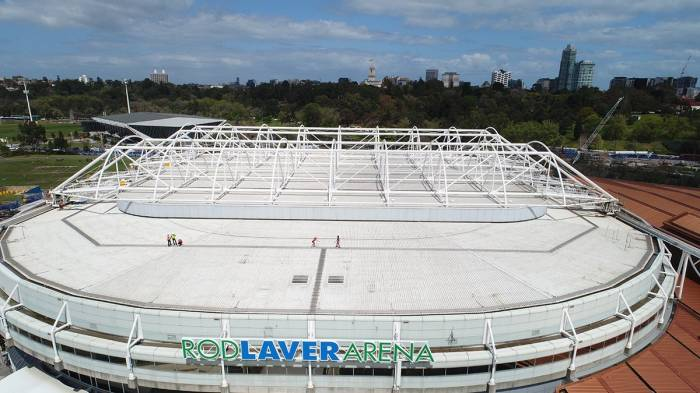 Renovation on Rod Laver Arena set to be completed within 2019