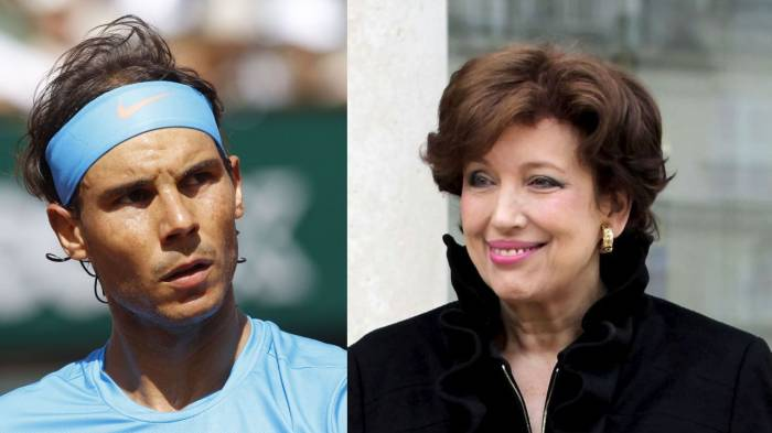 Rafael Nadal asks for €100,000 compensation from former French Minister
