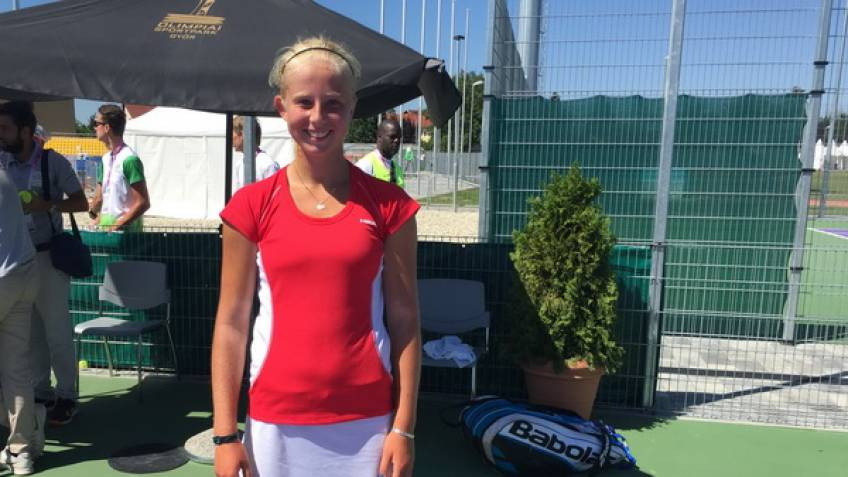 14-year-old Clara Tauson wins her first Pro title in Stockholm