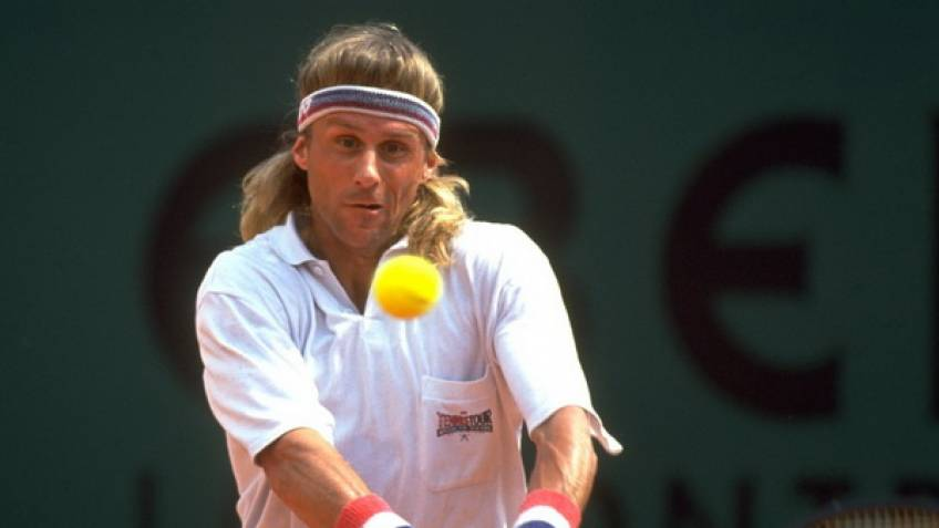 November 10, 1993: Bjorn Borg plays his last career match in Moscow