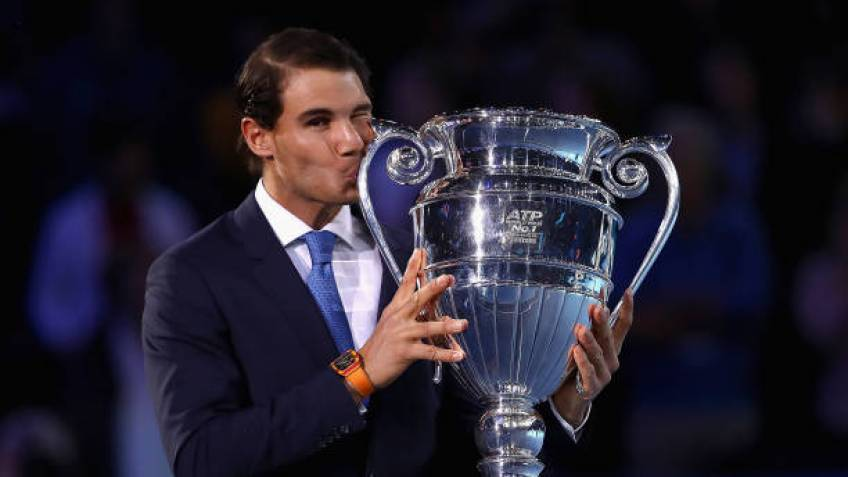 Rafael Nadal Awarded Year End No 1 Trophy It Means A Lot To Me
