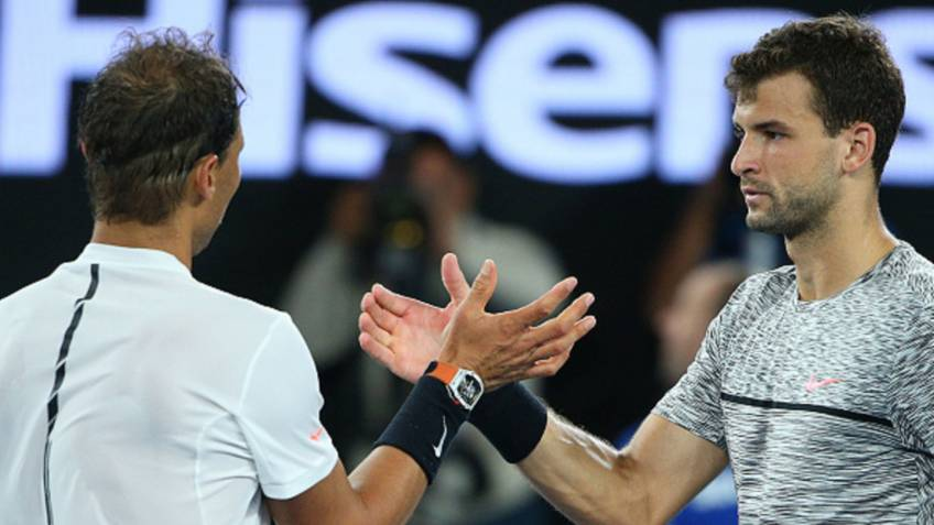 Dimitrov says Rafa Nadal told him to 'forget' about loss at Australian Open
