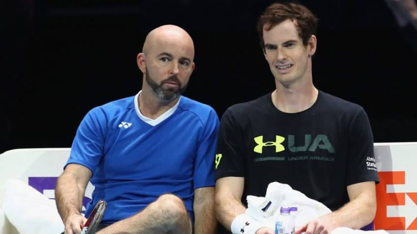 Jamie Delgado confirms Andy Murray will be back for Brisbane