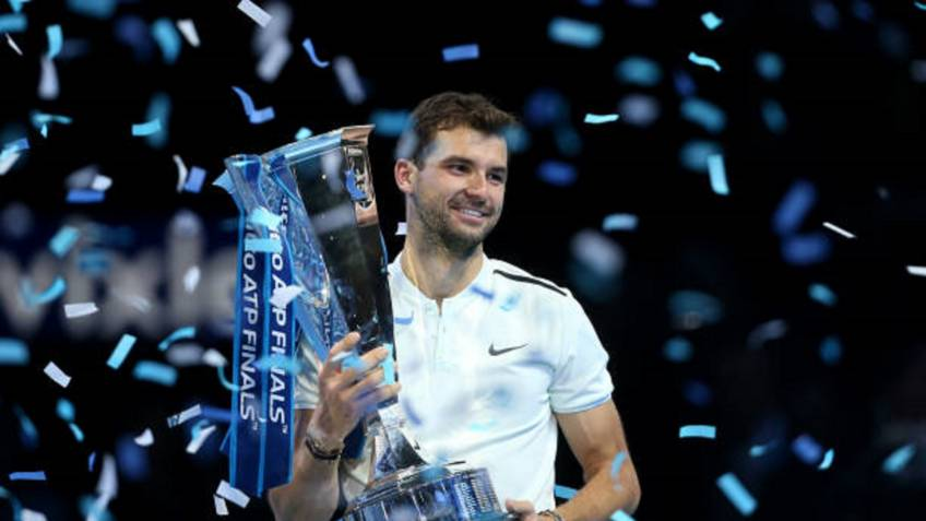 Grigor Dimitrov's rise in 2017: his incredible journey to world No. 3