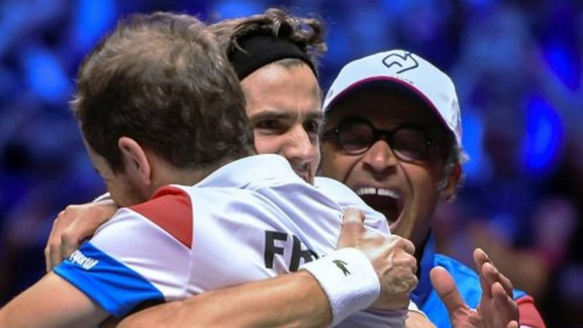 Yannick Noah: 'I am happy they won,otherwise I would have been on hot seat'