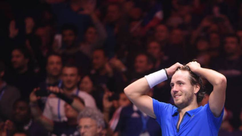 Lucas Pouille: 'There isn't anything more beautiful'