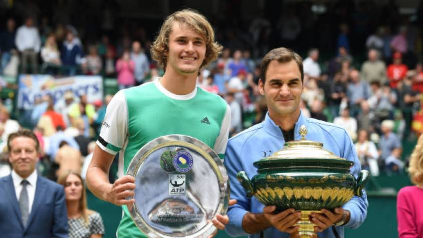 Alexander Zverev signs three-year contract with Halle event
