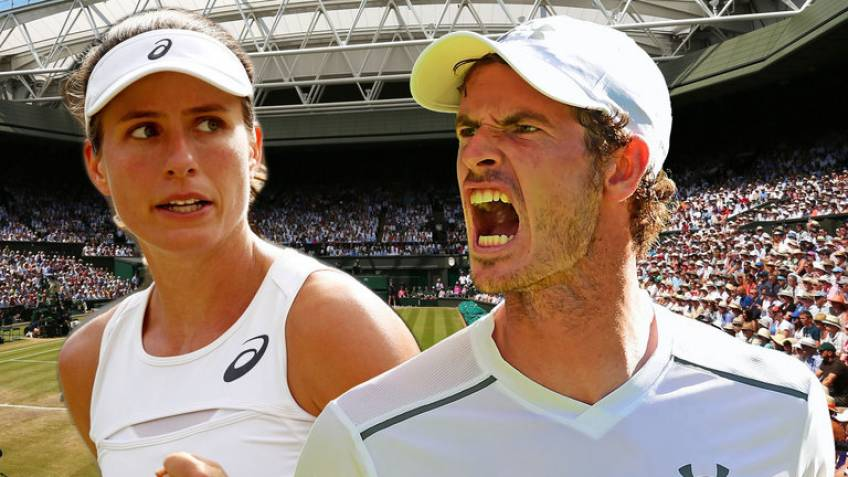 Johanna Konta: 'Andy Murray is such a massive supporter of women'