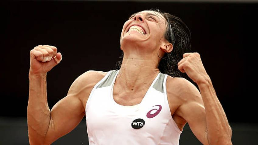 Inspired by Federer and Williams, Francesca Schiavone will play in 2018
