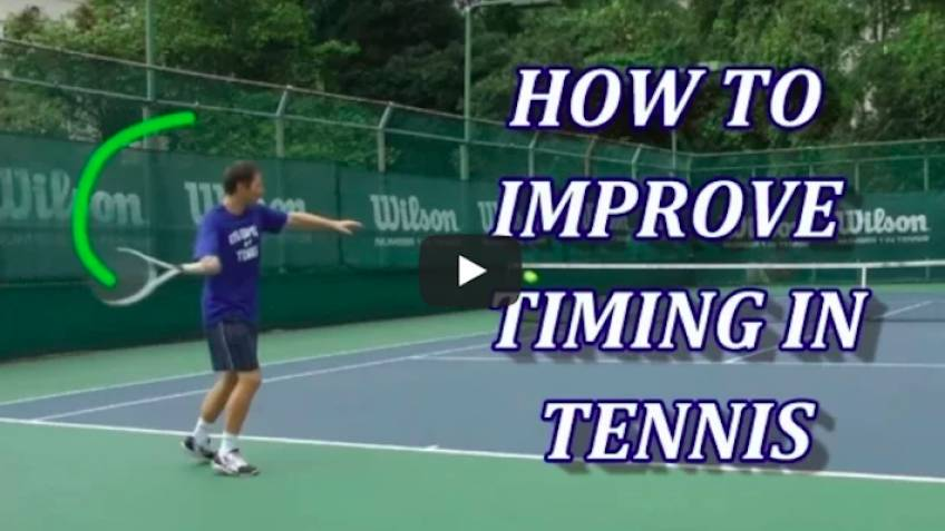 Drills To Improve Timing in Tennis