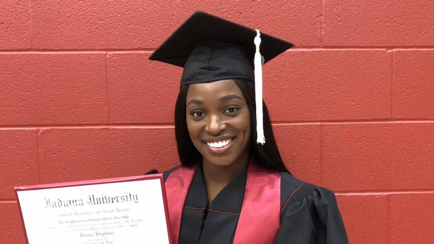 Sloane Stephens graduates: 'The highlight of my life'