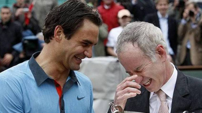 John McEnroe says he could have managed his early success like Federer did