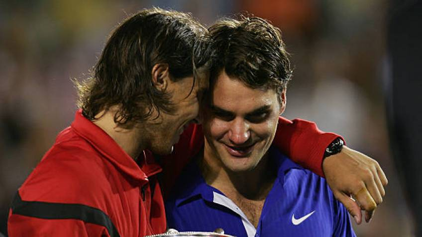 Roger Federer reveals the Rafael Nadal's shot he would like to have