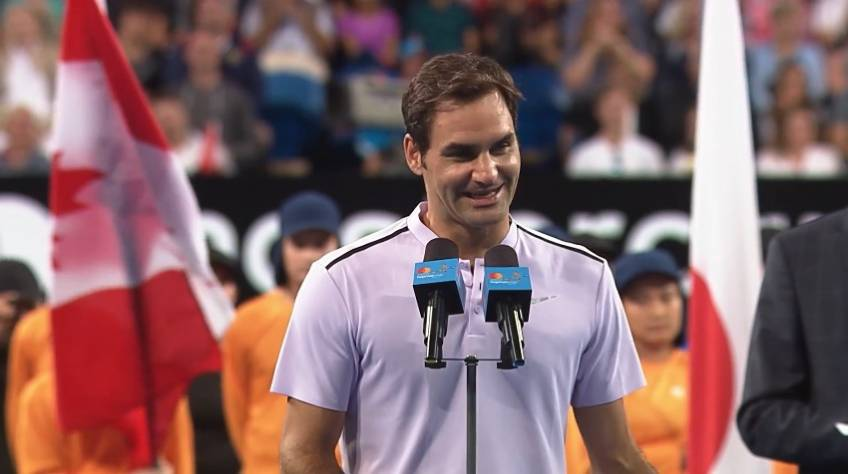 Roger Federer: 'After all these years I can't believe it, I'm here again'