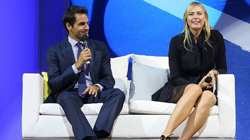 Roger Federer and Maria Sharapova to help with Australian Open draw