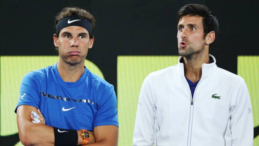 Novak Djokovic: 'Federer, Nadal are favourites. Kyrgios is in great form'