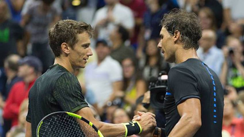 Andrey Kuznetsov says Rafa Nadal is the 'kindest' player on the Tour