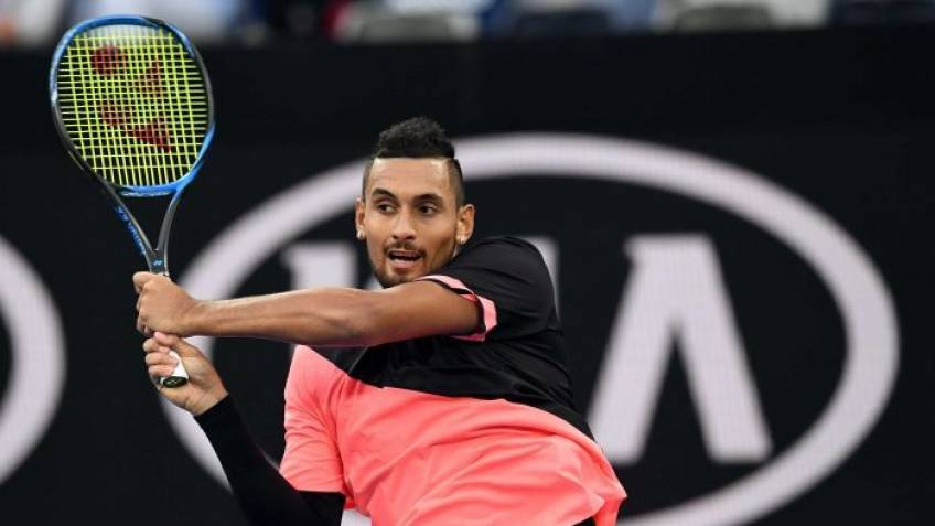 Nick Kyrgios receives $3.000 fine