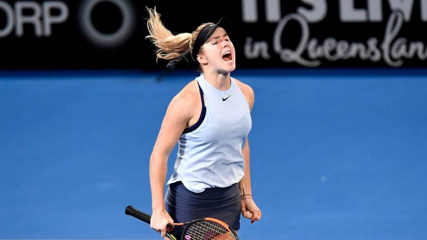 Elina Svitolina: It wasn't easy and I was struggling