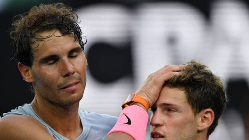 Diego Schwartzman: 'Rafael Nadal can play aggressive tennis for four hours'